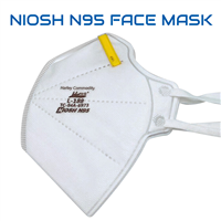 PPE N95 Face Mask (NIOSH and CDC Approved)