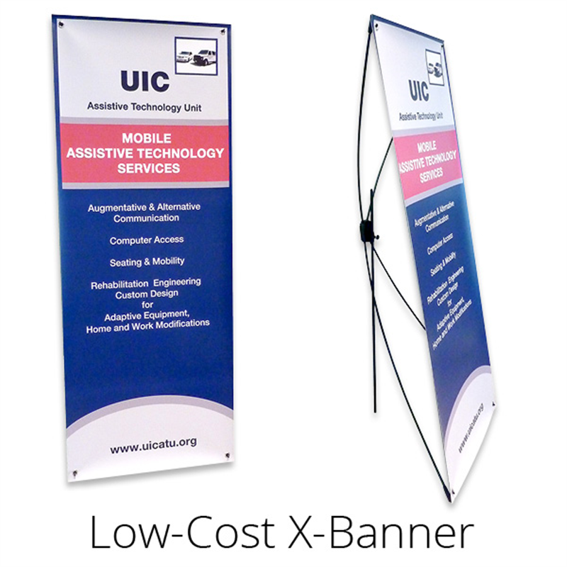 Chicago Retractable Banner Pop Up Banner Pull Up Banner