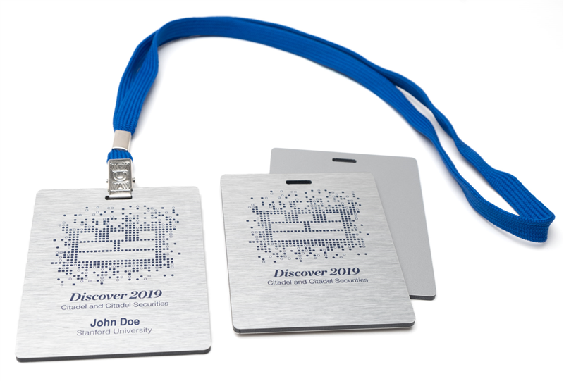 Custom VIP Name Tags & Name Badges in Metal or Plastic