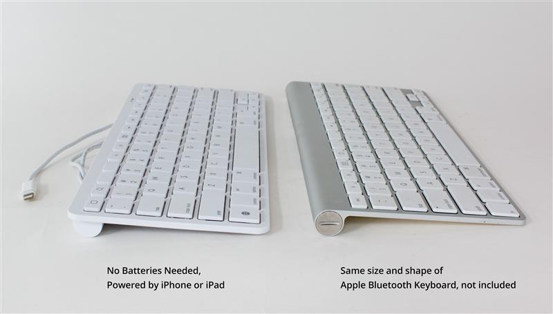 iPad Wired Keyboard 8-pin Lightning