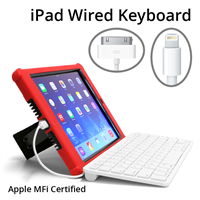 iPad Wired Keyboard - Apple MFi Certified