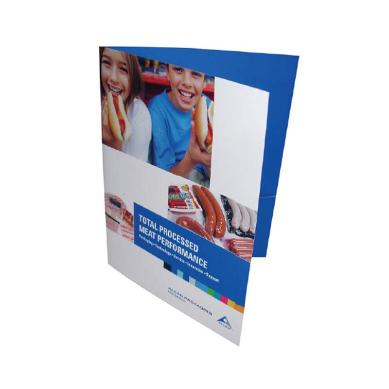 Presentation Folders, Folder with Pockets, Business Card Slits ...