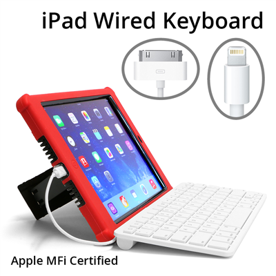iPad Wired Keyboard K12 Sample