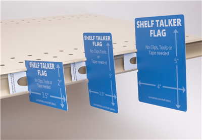Shelf Talker Flag