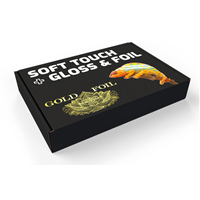Soft Touch Box with Gloss Coating & Foil