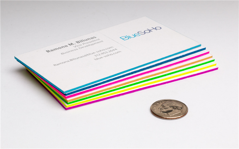 Chicago color printing signage beefy cards ultra thick business cards reheart Image collections