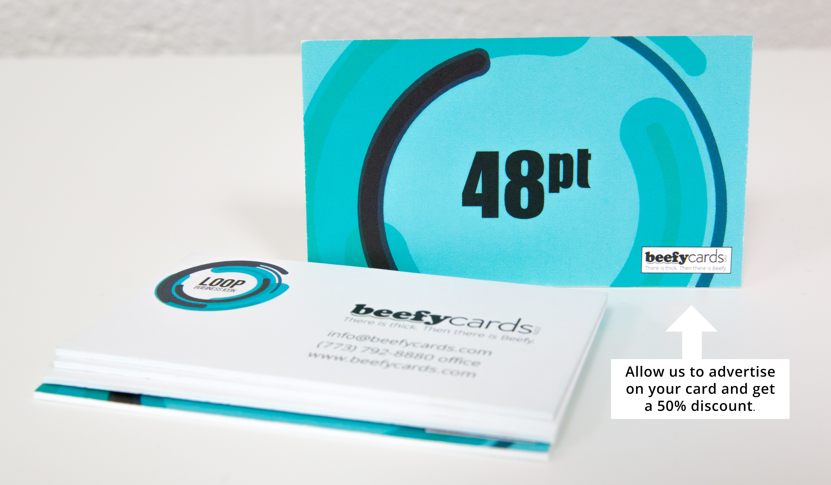 ultra thick business cards beefy cards
